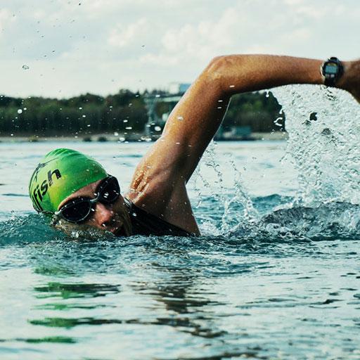 mcray denton swimming